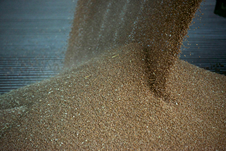 grain handling creates dust