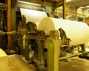 the production of tissue paper creates a dust hazard