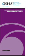 combustible dust brochure