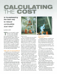calculating the cost article