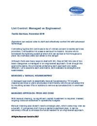 lint control textile magazine article